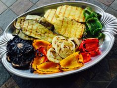 Grilled Vegetables with Miso Dressing - http://www.pamelasimon.com/grilled-vegetables-miso-dressing/ #vegan
