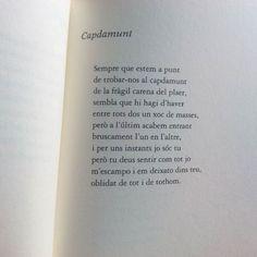 Aquest vespre a les 7 aniré a la bíblio de #Martorell a escoltar versos d'@Alex_Susanna tan transparents com aquests.  Per cert que la foto és per participar en un concurs. Les bases són a cpnl.cat/concurs.  #llegiressexilh #lhsantallucia #lletrescat #santallucia #lletres #lletrescatalanes #poema #poeta #lector #pagina #lectura #paper #instagood #biblioteca #bíblio #quèfemalesbiblios #autor #climax #versos #literature #literatura #vers #poesia #text #concurs