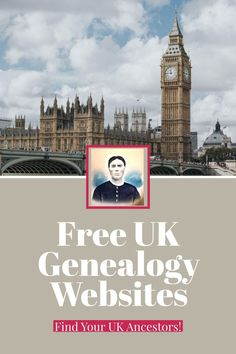 A list of free genealogy websites to find your UK ancestors. Save money while researching genealogy the frugal way.