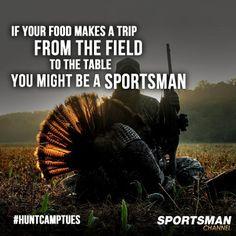 All natural and organic! #Hunting