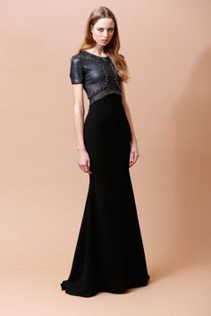 Badgley Mischka pre fall 2014 #dress