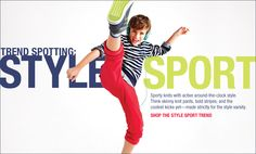 Shop the style sport trend
