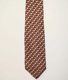 Talbott Studio Carmel Valley Made in USA Mens Finest Silk Neck Necktie Tie 58in #TalbottStudio #Tie