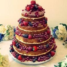 Torta nuziale wedding naked cake