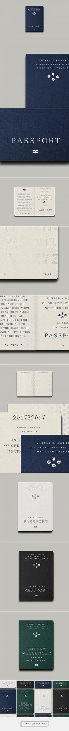 UK Passport by Michael Mason