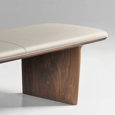 33 Lovely Minimalist Wood Furniture Design Ideas - Nothing compares to the elegance of wood furniture. In spite of the emergence of varied types of materials for furniture in the market today, wood wil. Bench Furniture, Leather Furniture, Furniture Upholstery, Upholstered Chairs, Cheap Furniture, Furniture Design, Sofa Chair, Egg Chair, Discount Furniture
