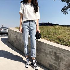 Tolle koreanische Mode-Outfits 45937 Source by The post Korean Fashion Trends, Korea Fashion, Asian Fashion, Look Fashion, Korean Fashion Summer Street Styles, Ulzzang Fashion Summer, Grunge Fashion, Korean Street Styles, Korea Summer Fashion