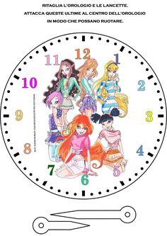 orologio delle winx