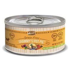 Merrick Classic Grain Free Small Breed Grammy's Pot Pie Canned Dog Food 3.2 oz. Chicken Case of 24 *** You can get additional details at the image link. (This is an affiliate link and I receive a commission for the sales)