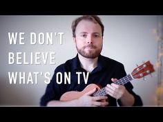 We Don't Believe What's On TV - Twenty One Pilots (Ukulele Tutorial) - YouTube