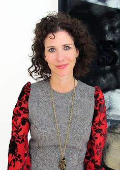 Mollie Dent-Brocklehurt- She has pulled strings for Larry Gagosian, struck deals for Roman Abramovich and advised Dasha Zhukova (Garage 2008-2010).  Now Executive Director of Pace London.