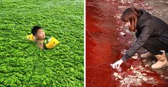 Shocking Photos Reveal How Bad Pollution in China Has Gotten  Someone has to do something about this mess . . . View full post »