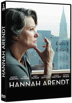 HANNAH ARENDT (2012) Margarethe von Trotta. Hannah Arendt, filòsofa judeoalemanya, va presenciar el judici d'Eichmann, la ment  que va idear el genocidi del poble jueu.