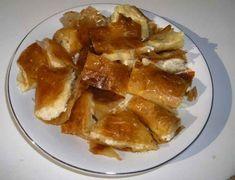 Bougatsa me Krema - Creamy Custard Phyllo Pastry - Aussie Taste Recipes Recipe Box, European Breakfast, Longest Recipe, Custard Filling, Street Food, Vegetarian, Favorite Recipes, Cheese, Kitchens