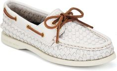 Sperry Top-Sider Cloud Logo Authentic Original 2-Eye Woven Boat Shoe