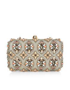 Ava Hardcase Clutch Bag | Multi | Accessorize