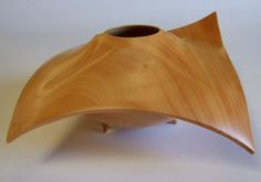 Woodturning art by Guilio Marcolongo
