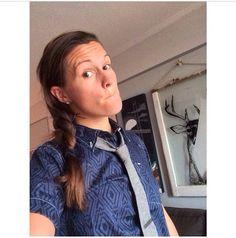 #Erin Mcleod #tomboy #style #tie