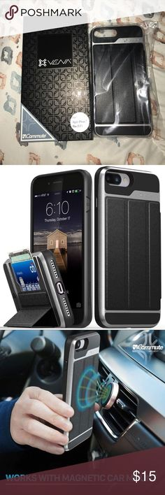 """Awesome Cars accessories 2017: iPhone 7 Plus Case Compatible with Apple iPhone 7 Plus (5.5"""") Hidden card s...  My Posh Picks Check more at http://autoboard.pro/2017/2017/08/18/cars-accessories-2017-iphone-7-plus-case-compatible-with-apple-iphone-7-plus-5-5-hidden-card-s-my-posh-picks/"""