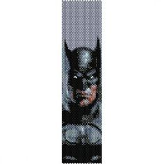 Loom Bead Patterns | BATMAN - LOOM beading pattern for cuff bracelet (buy any 2 patterns ...