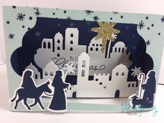 Stampin' Up! Night in Bethlehem by rscherzer - Cards and Paper Crafts at Splitcoaststampers