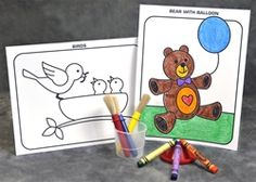 Color and paint by touch with deeply embossed lines and a braille.  These pictures are perfect for visually impaired individuals to learn shapes and outlines, and have a ton of fun! Manufacturer Direct Price: $7.95