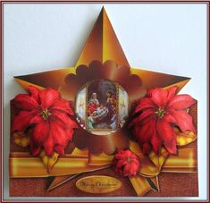Christmas Star over The Edge Card topper Mini Kit in Card Gallery