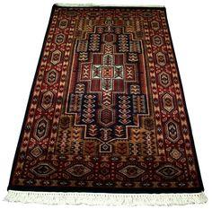 NEW Carlos Felted Wool Rug Multicolor Natural Kilim Carpet Rug Wool Carpet
