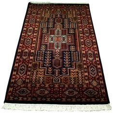 KASHMIR PERSIAN HAND MADE RUG CARPET RUNNER CASHMERE WOOL INDIAN RUG HAND WOVEN #Unbranded