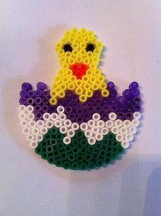Easter egg hama perler by yerdua