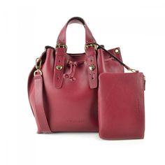 Borse TWIN-SET - Linea Large Handle - Borsa donna AA57LQ Berry - Parlatobags.it