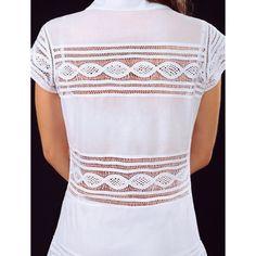 01/585 B/MANGA JAPONESA BORDADA EN PATECABRA Sweet Little Things, Drawn Thread, Fashion Art, Womens Fashion, Estilo Fashion, Needle Lace, Crochet, Smocking, Shirt Style