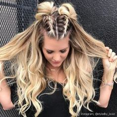 24 Super Easy Quick hairstyles for all hair lengths 24 Super E . - 24 super easy quick hairstyles for all hair lengths 24 super easy quick hairstyles for all hair lengths # hairstyles for every length # bun for long hair Medium Hair Styles, Curly Hair Styles, Hair Medium, Simple Hairstyles For Medium Hair, Quick Easy Hairstyles, Braided Long Hair Styles, Back To School Hairstyles For Long Hair, Medium Length Hair Braids, Easy Hairstyles For Medium Hair For School