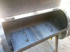 BBQ Smoker Hinges | Thread: Reverse Flow Smoker / BBQ Pit Project - Lots of Pictures