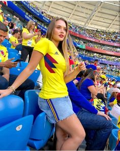 Day 15 Senegal Vs Colombia Japan Vs Poland Share for more best of FIFA Women's World Cup Hot Football Fans, Football Girls, Girls Soccer, Soccer Fans, Sporty Girls, Fans Sports, Female Football, Football Soccer, Hot Fan
