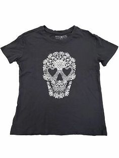 Mexican Damen T-Shirt Skull Blood Rockabilly Tattoo Gothic Muertos