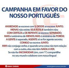Perfeito! Portuguese Lessons, Learn Portuguese, Brazilian Portuguese, Portuguese Language, Great Words, Education, Learning, Languages, 1