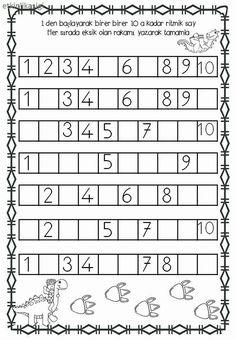 Practice Writing Numbers 04 is part of Kindergarten math - Preschool Writing, Numbers Preschool, Preschool Learning Activities, Preschool Printables, Montessori Math, Kindergarten Math Worksheets, Writing Numbers, Math For Kids, Writing Practice