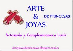 ARTE&JOYAS de PRINCESAS: Cartel Arte y Joyas de Princesas Hoy os quiero enseñar la nueva imagen de Arte y Joyas de Princesas, a mi me parece precioso a ustedes que os parece? Espero vuestras opiniones..