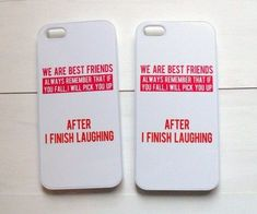 After i finish laughing best friend cases iphone phone cases, cute phone cases, diy Bff Iphone Cases, Bff Cases, Funny Phone Cases, Cute Cases, Ipod Cases, Best Phone Cases, Matching Phone Cases, Phone Cases Iphone6, Iphone 5c