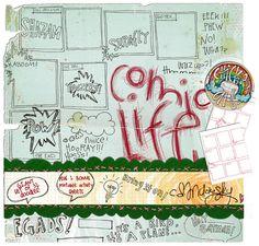 Comic Life by C.D. Mucksky.