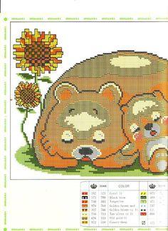 família d'osos dormin 1
