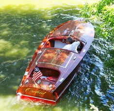 1954 19 ft Chris Craft Racing Runabout | Classic Mahogany Racer