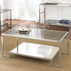 FREE SHIPPING! Shop Wayfair for Steve Silver Furniture Churchill Coffee Table - Great Deals on all Furniture products with the best selection to choose from!