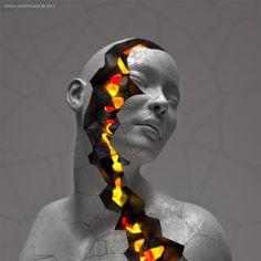 Esculturas digitales de Adam Martinakis | Quiero más diseño