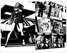 New Avengers Pages Art by MikeDeodatoJr on DeviantArt Comic Book Artists, Comic Books, Mike Deodato Jr, Fabio Moon, Marvel Comics, I Am Legend, Sweet Revenge, New Avengers, Art Studies