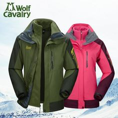 63.35$  Watch now  - Outdoor winter jackets for men women's coats waterproof hunting clothing mountaineering camping Walking and hiking jackets