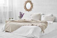 Luxury Bed Linens For Less Bed Linen Design, Linen Store, Linen Duvet, Bed Duvet Covers, Cozy Bed, Home Textile, Luxury Bedding, Bed Sheets, Bedding Sets
