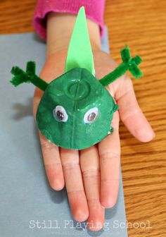 Frog Life Cycle Recycled Craft | Still Playing School