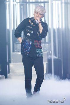 Press photos of Big Bang's comeback stage on Mnet's M Countdown: SEUNGRI